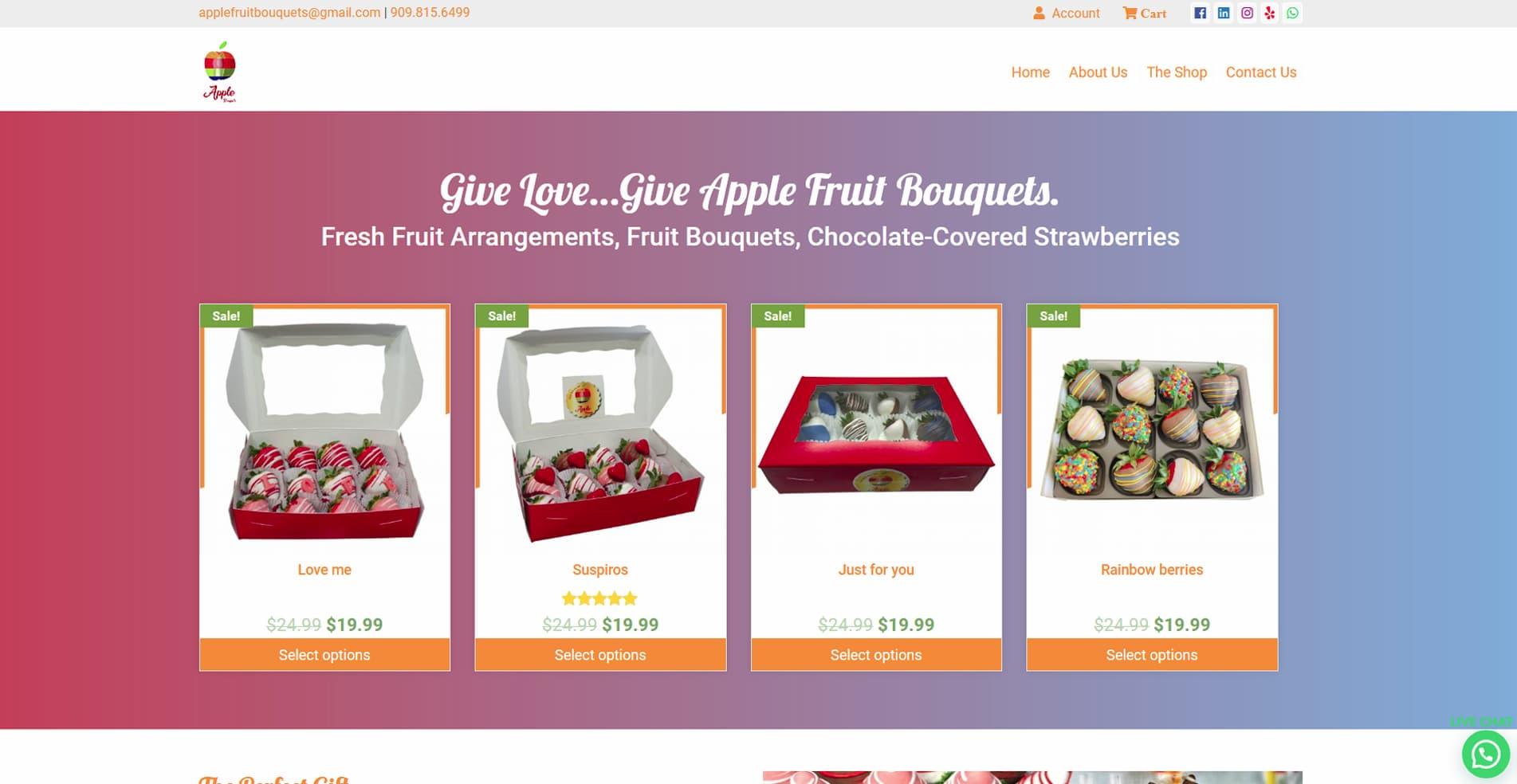 Web-Design-ReflexZion-Apple-Fruit-Bouquets