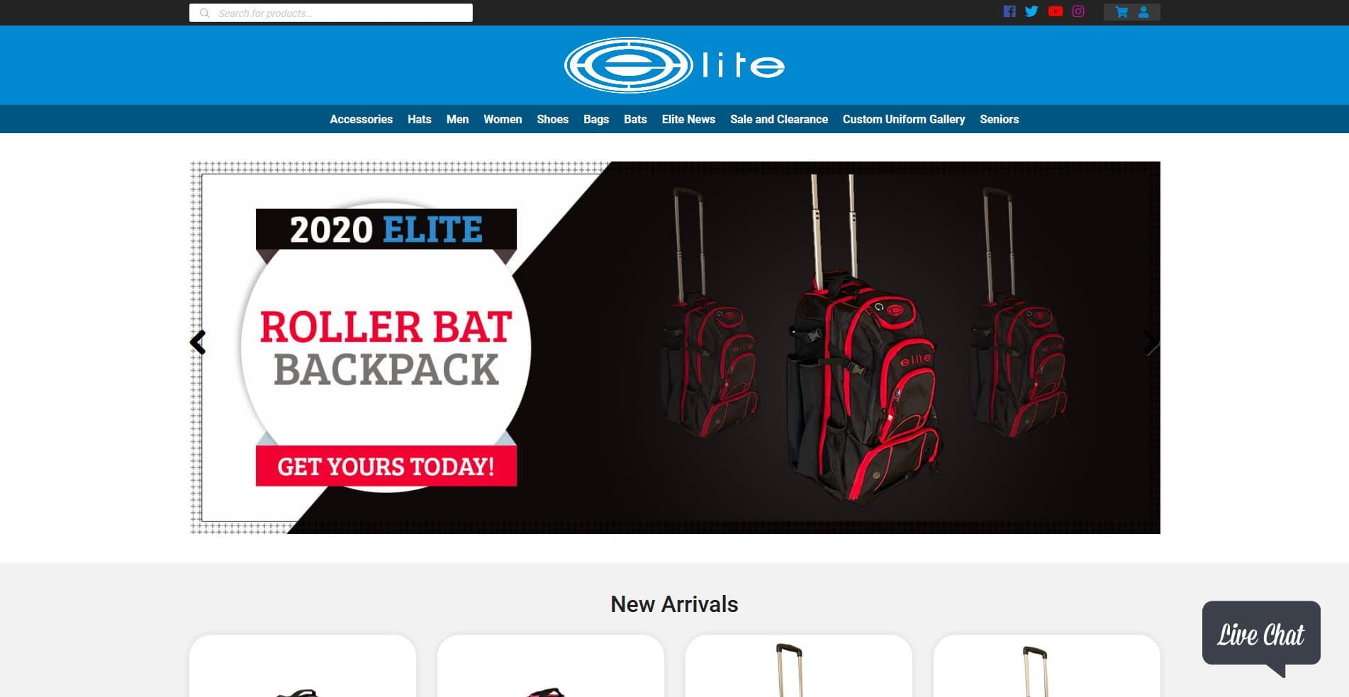 Web-Design-ReflexZion-Elite-Sports-USA